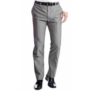 Madison Charcoal Flat Front Slim Fit Pant